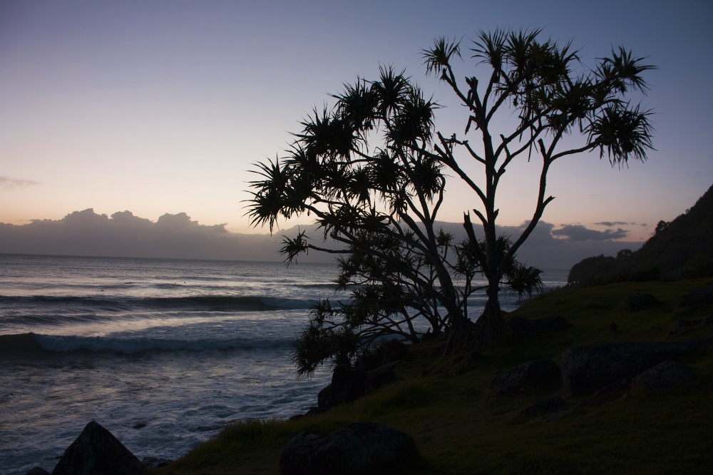 photoblog image Burleigh Heads Sunrise