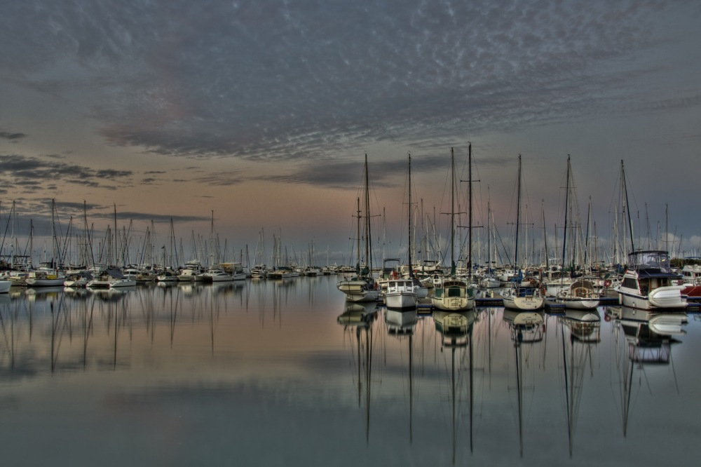 photoblog image Manly Marina